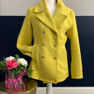 Citron Double Breasted Coat